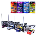 Colourful Mini Coke Can Rc Car Radio Remote Control Car Micro Racing Vehicle Electric Mini Toys
