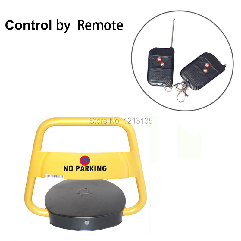 security Automatic Car Parking Barrier, Remote Control Traffic Parking Blocker Lock