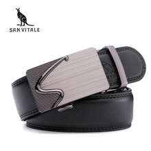 Buy New Designer Men's Belts Luxury Man Fashion Genuine Leather Belt Man High Automatic Buckle Male Waist Strap Jean for $10.15 in AliExpress store