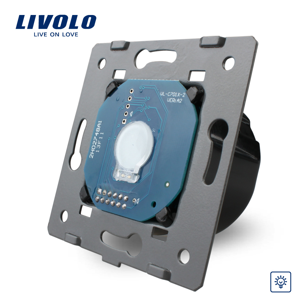Manufacturer, Livolo EU Standard Dimmer Switch Without Glass Panel, Wall Light Touch Dimmer Switch, VL-C701D(China (Mainland))