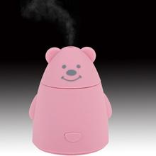 Новинка ультразвуковой рабочего USB увлажнитель-очиститель милый кролик медведь панда животных мини портативный аромат атомайзер для офиса