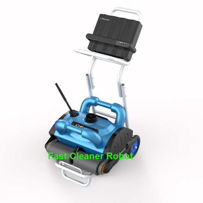 New Model ICleaner-200 Swimming Pool Automatic Cleaner, Robot Vacuum Pool Cleaner With Wall Climbing Function and Remote Control(China (Mainland))