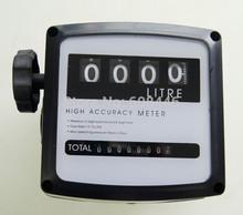 """Nuevo 1 """" de combustible 4 dígitos gasolina Diesel medidor de flujo de aceite contador alta precisión 1%"""