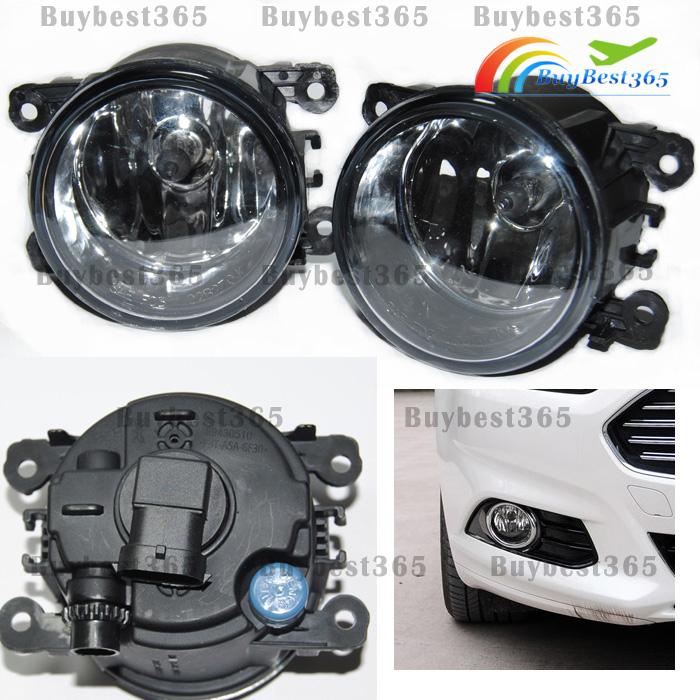 Driver Passenger Sides Fog Light Lamps + H11 Bulb For Acura ILX RDX TL TSX