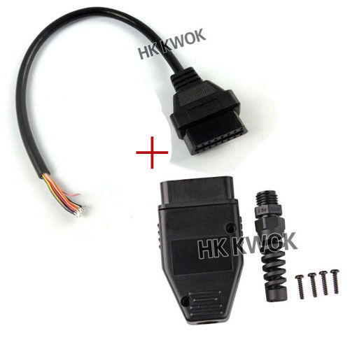 Universal OBD2 II Opening Cable 30cm OBD 2 16Pin Male to Female Extension Connector Diagnostic Extender High Quality Free Ship(China (Mainland))