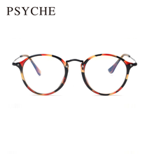 Fashion Retro Oculos De Grau Vintage Thin Legs Eyeglasses Frame For Women Round Glasses Frame Women's Optical Frames X809