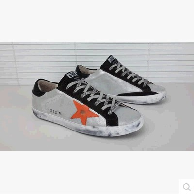 2016 Italy Brand Real Leather Men Women Silver Casual GGDB Argento Scarpe Di Marca Uomo Golden Goose Bass Superstar Shoes