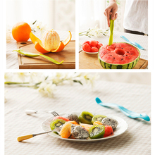 1pcs plastic multi-function Fruit Peeler Household Gadget Kitchen Tools Peeling Fruit Dig Kitchen Accessories Watermelon Cutter