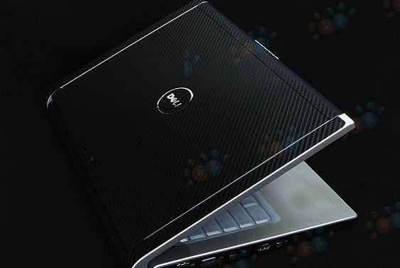 KH Special Laptop Carbon Leather Sticker Skin Cover Guard Protector For DELL XPS M1330 (2012)(China (Mainland))
