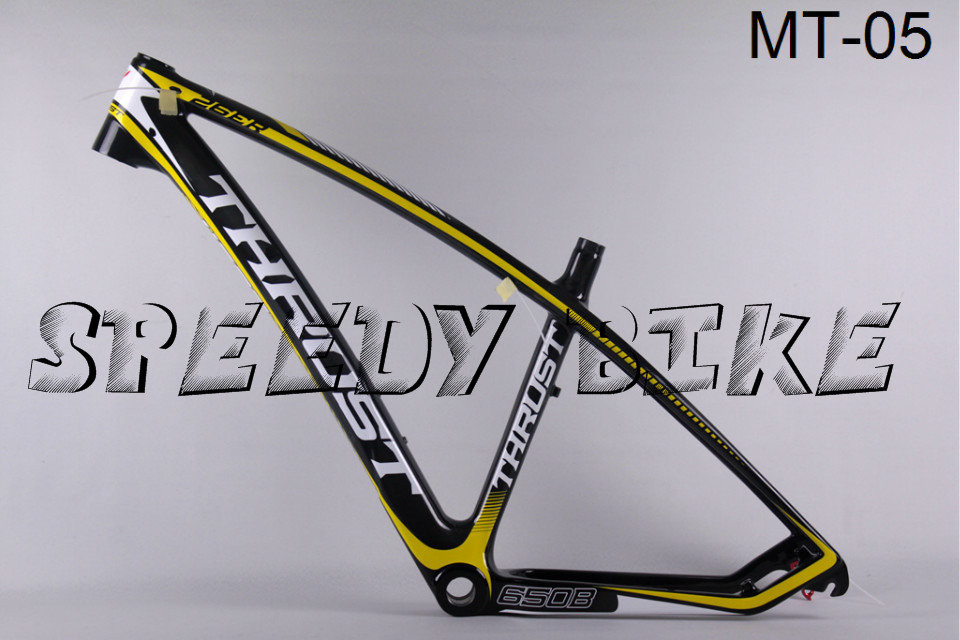 T800 hot sale carbon frame MTB trident thrust Carbon MT-05 frames Fit for electronic and mechanical Glossy complete(China (Mainland))