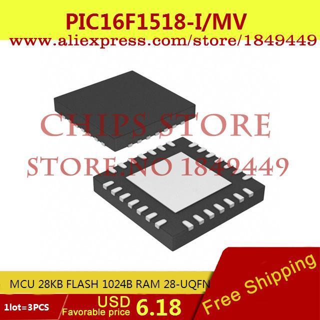 Цена PIC16F1518-I/MV
