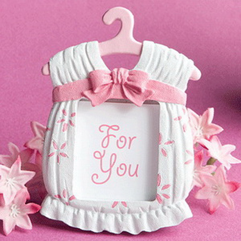 Free shipping cute pink dress design picture frame place for Best place to get picture frames