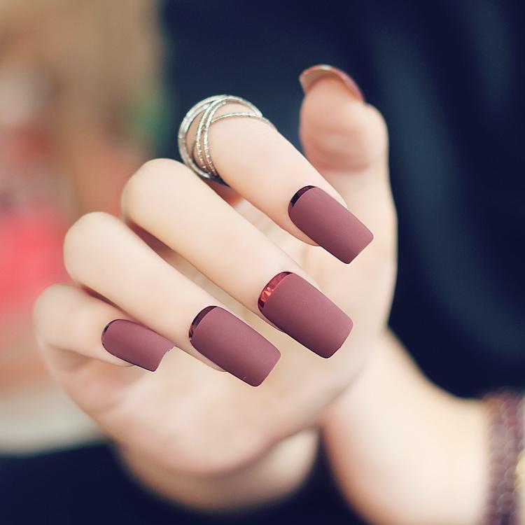 brun faux ongles achetez des lots petit prix brun faux ongles en provenance de fournisseurs. Black Bedroom Furniture Sets. Home Design Ideas