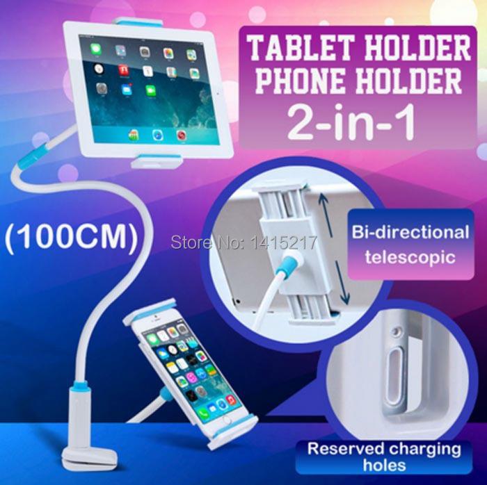 Горячая продажа 3.5-10.5 дюймов 360 Вращения Tablet PC Стенд Поддержка постельное Таблица Диван Ленивый Tablet Крепление для Планшета iPad Mini держатель