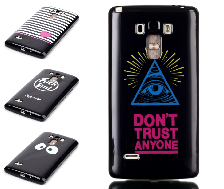 G4 STYLUS case Soft Silicon TPU Cover Case For LG G4 STYLUS Cartoon Cover Love lion panda Phone Bag Protective Shell(China (Mainland))