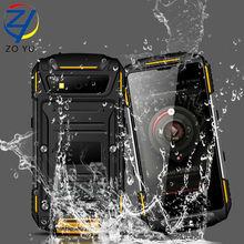 ZOYU s950 Smartphone Android IP68 waterproof and dustproof MTK6735Quad-core mobile phone 3100mAh power bank senior phone(China (Mainland))