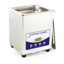 2L JP-010T Digital ultrasonic bath cleaner sonic jewelry cleaning glasses dental washing machine with Degas(China (Mainland))