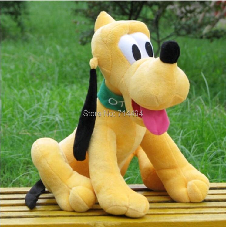 1pcs/lot 30cm Sitting Plush Pluto Dog Doll Soft Toys stuffed animals toys for children Mickey Minnie For Birthday kids Gifts(China (Mainland))