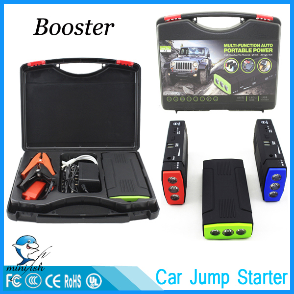 Portable Mini Multifunction AUTO Emergency Start Battery Charger Engine Booster Car Jump Starter Power Bank For 12V Battery Pack(China (Mainland))