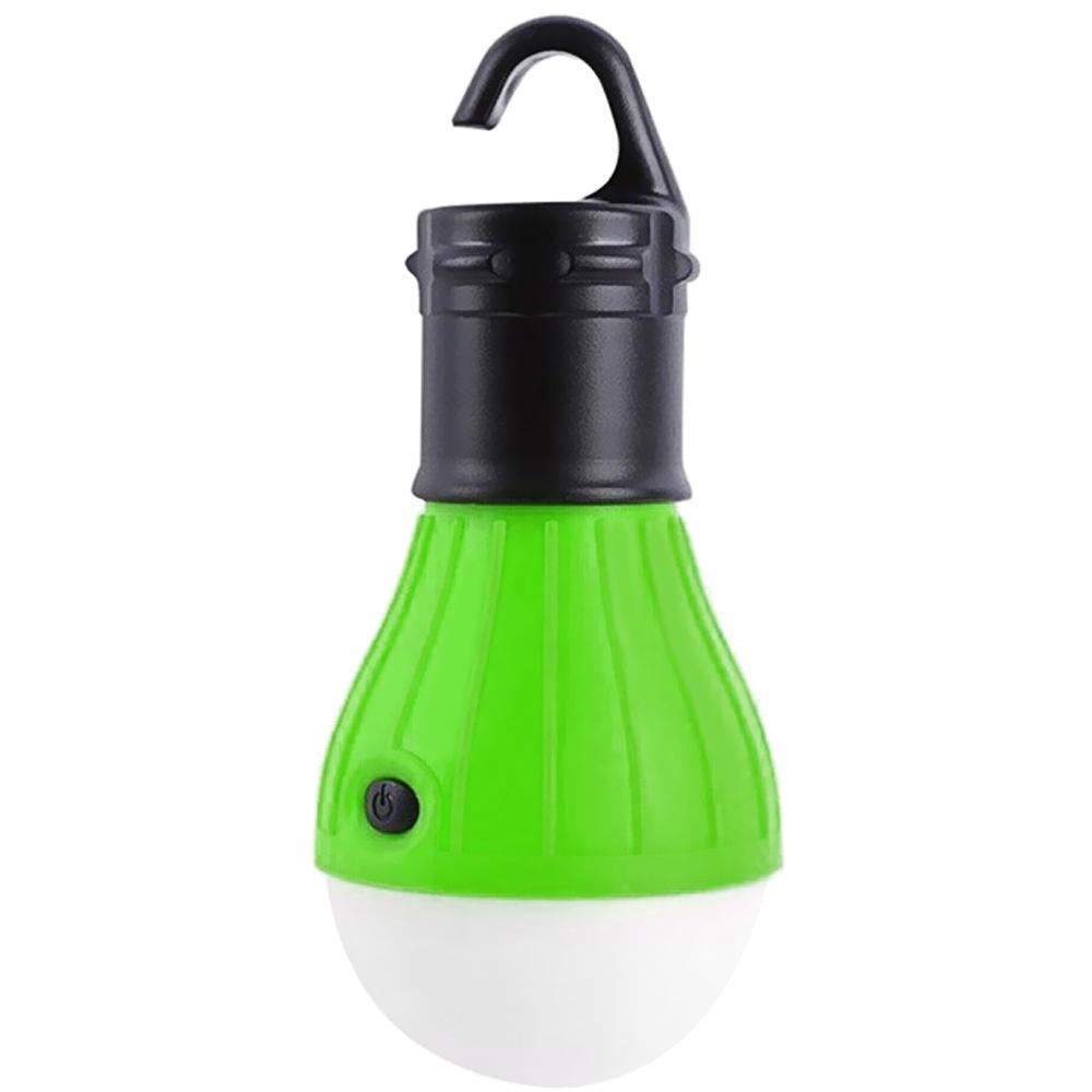 Outdoor LED Camping Lamp Tent Night Light Bulb ABS Energy-saving Low Heat Camping Lantern Light 3 x AAA Battery Tent Lamp(China (Mainland))