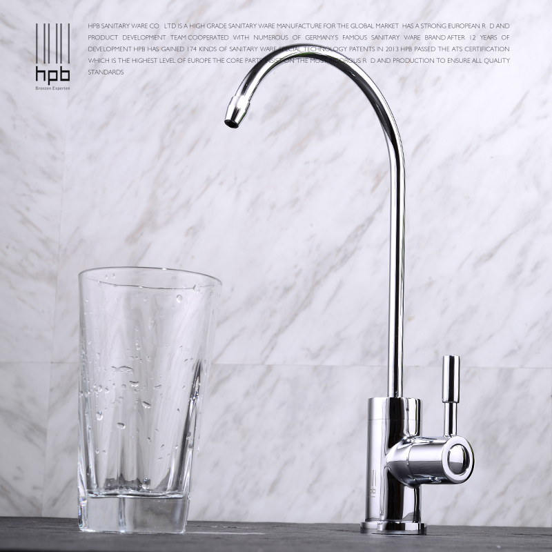 hpb copper purified water sink tap drinking water filter kitchen faucet hp4402 in kitchen. Black Bedroom Furniture Sets. Home Design Ideas