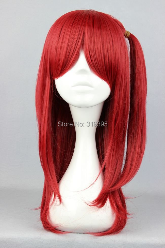 Cosplay Costume Wigs 60cm long Magi The Labyrinth of Magic Moore Gala Anime Hair  red<br><br>Aliexpress