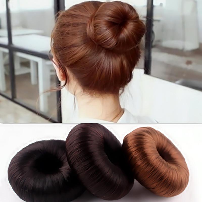 Hair Braider New Women Hairpiece Donut Hair Styling Accessory Ladies Braiding Tools Updo Maker Black(China (Mainland))
