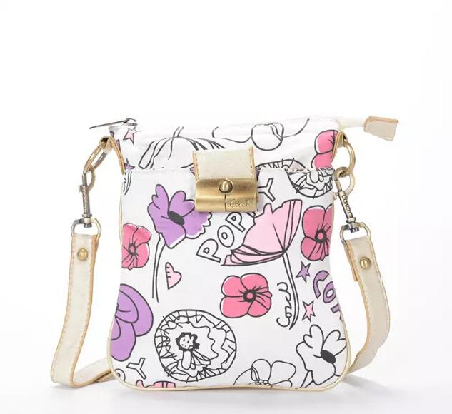 2015 the European and American design a new Diagonal package printing single shoulder bag letters women bag bus handbag Canvas(China (Mainland))