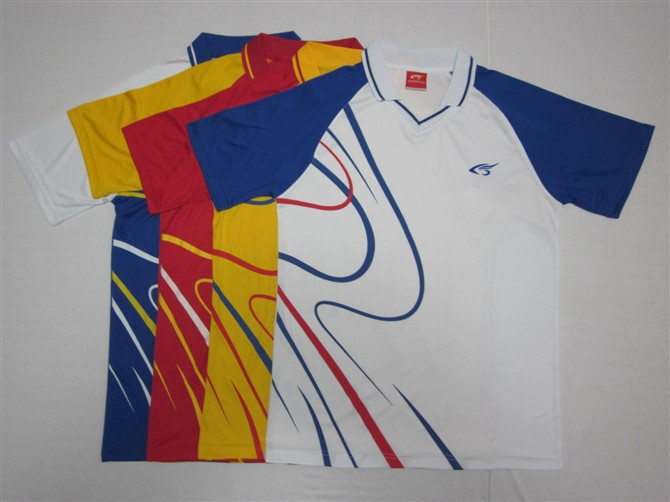 2015 Table Tennis T-Shirt / Table Tennis Jersey / Ping Pong shirt / Table Tennis Clothes/The volleyball shirt/ the badminton(China (Mainland))