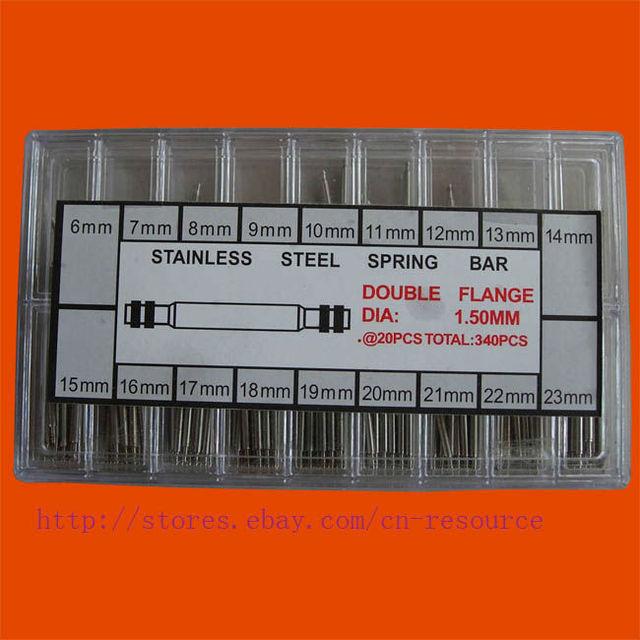 New 340 Pcs Watch Band Spring Bars & Strap Link Pins