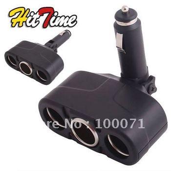 1Pcs 3 Way 12V Car Cigarette Socket Adapter Splitter Charger  #2802