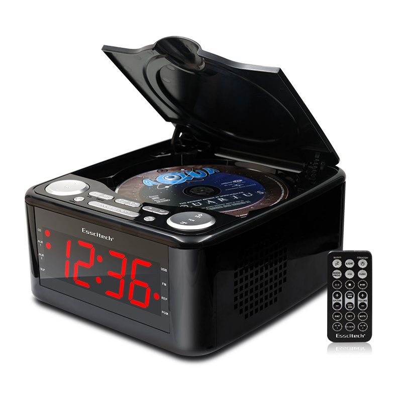 clocked cd drive mp3 player cd stereo speakers alarm clock usb prenatal zaojiao wma music fm. Black Bedroom Furniture Sets. Home Design Ideas