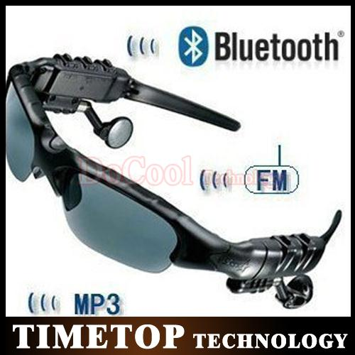 Freeshipping!! 50PCS Sports Bluetooth Sunglasses with Bluetooth earphone Headset for Cell Phone Wholeasle(China (Mainland))