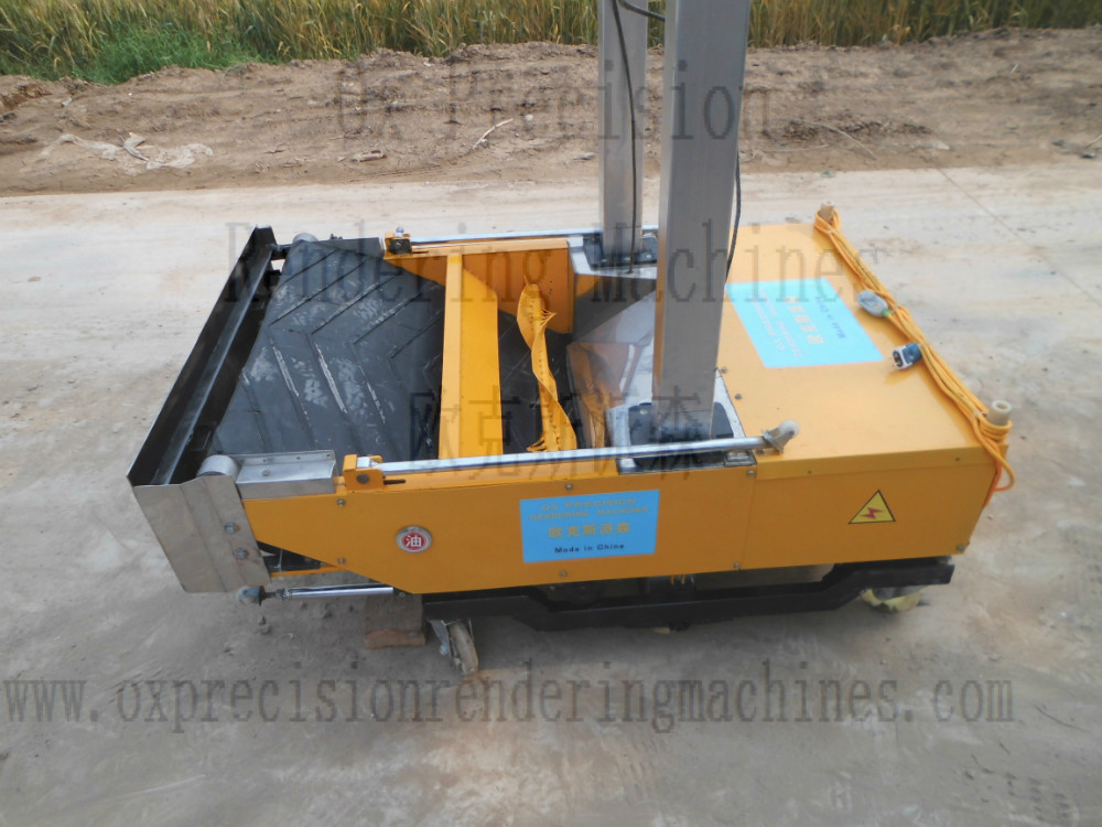 full automatic wall rendering machine wall plastering