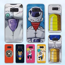 Buy vegeta body armor bejita dragon ball z design hard transparent Case Samsung Galaxy S8 S6 S7 edge S8 Plus s5 note 5 4 for $2.99 in AliExpress store