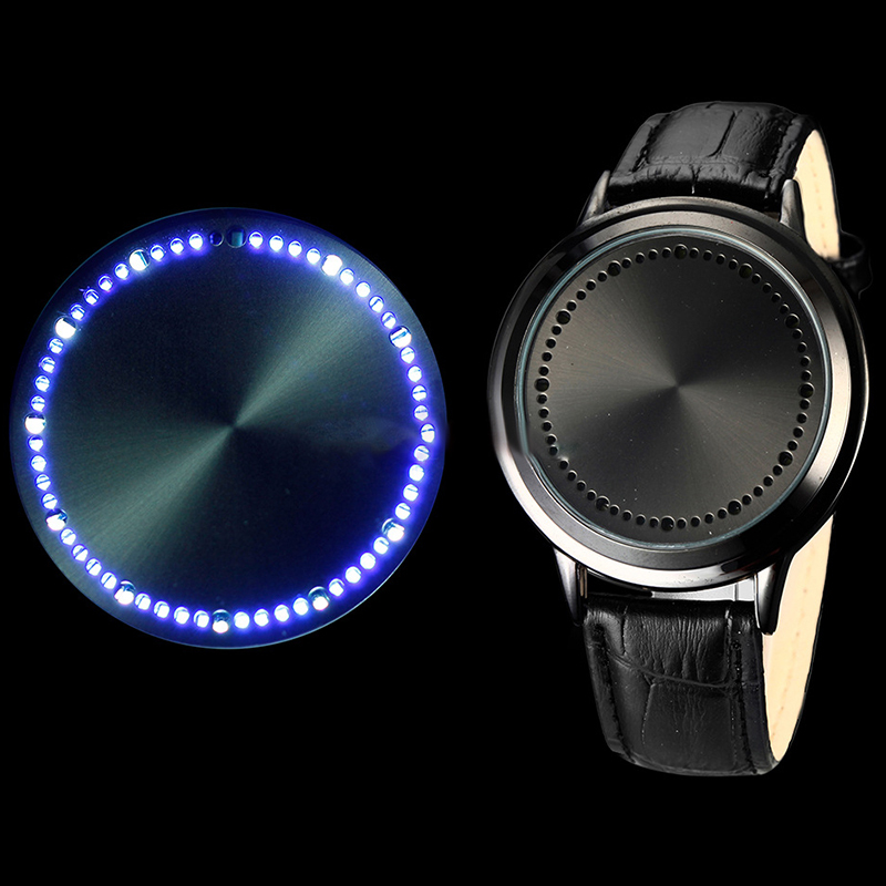 LED watch the tree of life touch screen foreign trade watches men and women LED touch