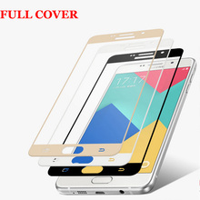 Buy Curved Edge Full Cover Premium Tempered Glass Screen Protector Film Samsung Galaxy A5 2016 A510 A7 2016 A710 Protective Film for $1.73 in AliExpress store