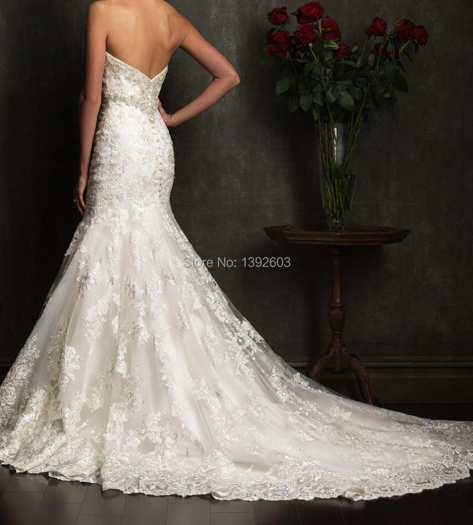 Country western customized prices euros styles sweetheart for Lace western wedding dresses