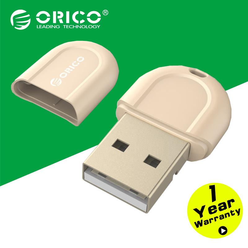 ORICO BTA 408 GD Mini Bluetooth 4 0 Adapte for Notebook Desktop PC Golden