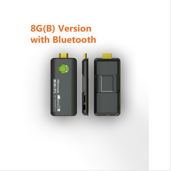 Rikomagic MK802IIIS Mini Android 4.1 PC RK3066 Cortex A9 1GB RAM 8G ROM Bluetooth HDMI TF Card TV BOX Free shipping(China (Mainland))