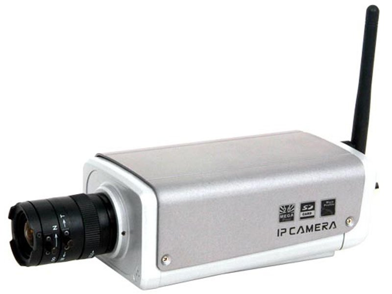 Wireless H.264 Box IP Camera(China (Mainland))