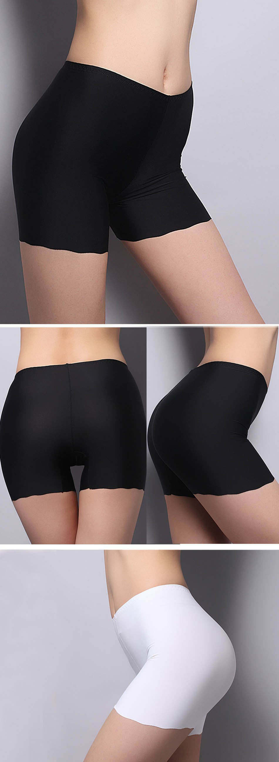 New 2017 Women Safety Shorts Female Seamless Legging Pants Casual Women's Summer Briefs Ice Silk Underwear Boxer 10