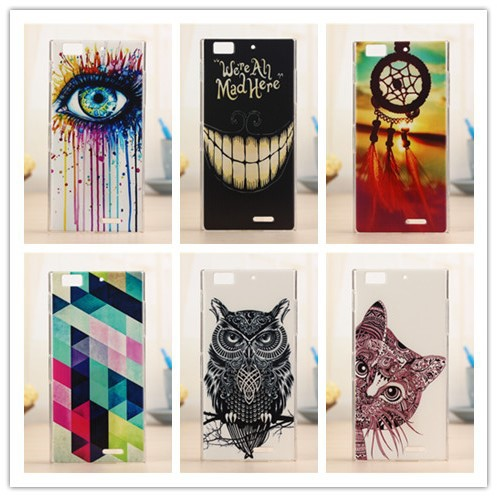 Top Quality Painted Hard Plastic Cover Case For Lenovo K900 Mobile Phone Protective Back Cases PY(China (Mainland))