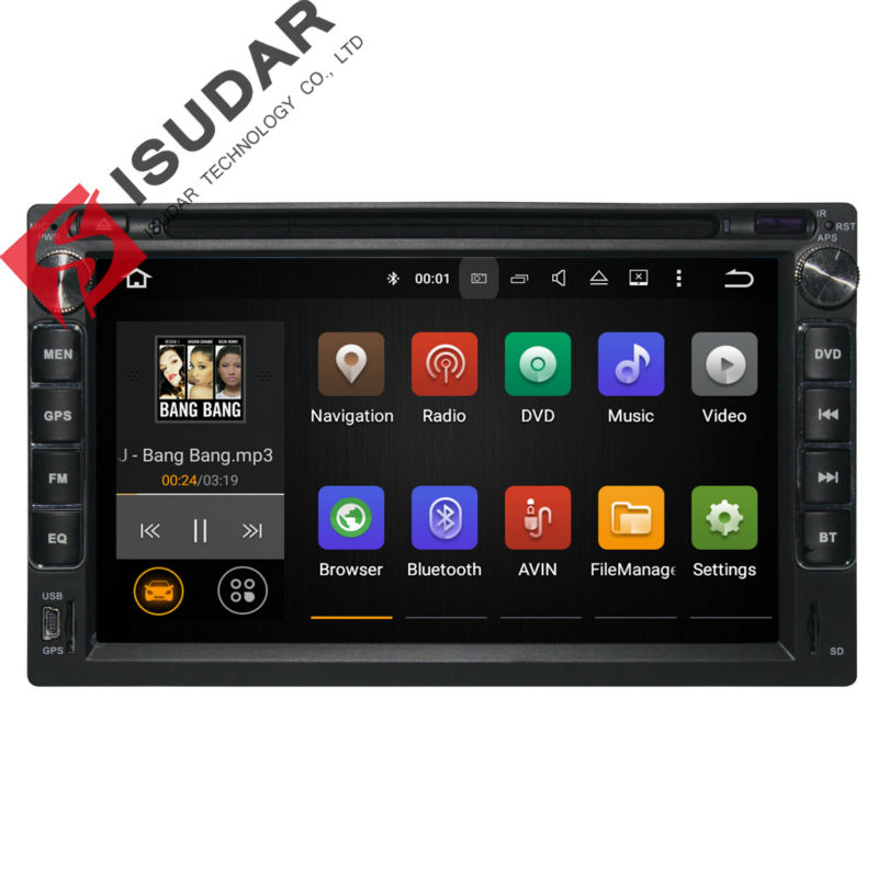 Android 5.1.1 Two Din 7 Inch Car DVD Player Audio For Chery/Very/A3/A5/Tiggo/Easter With 3G Host Wifi GPS Navigation FM Radio TV(China (Mainland))