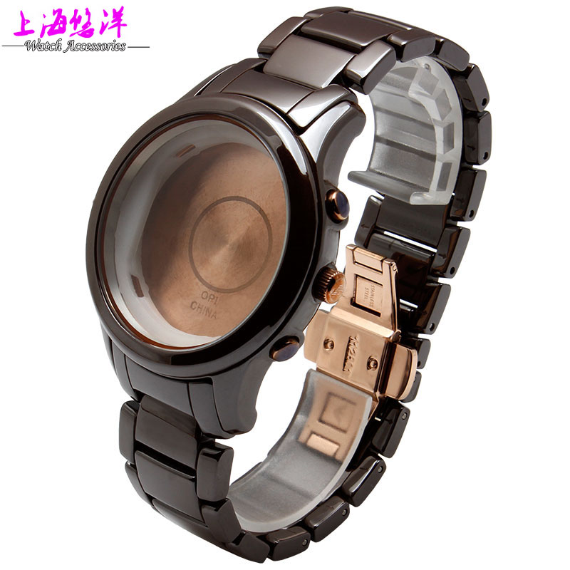 Watch accessories really brown case adaptation of AR1454 ceramics can be a single buy dial and a watchband(China (Mainland))