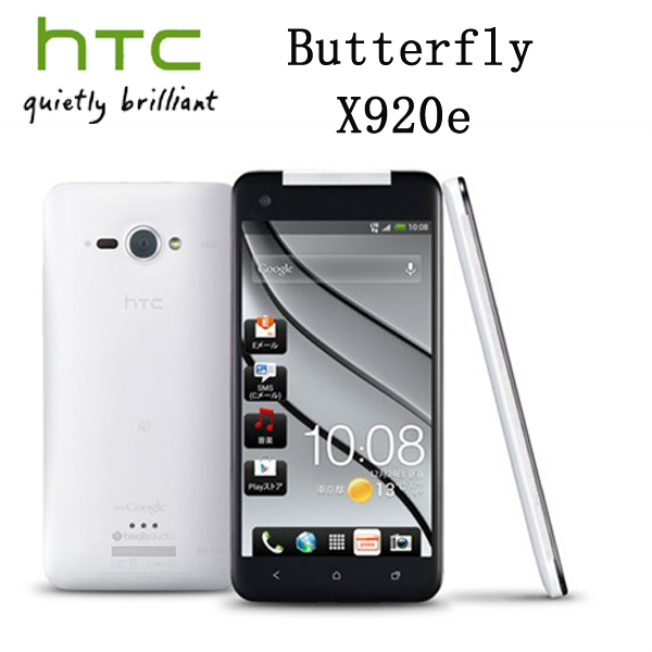 Refurbished unlocked HTC X920e butterfly/HTC luxury mobile phone 5.0 -inch capacitive touch screen 8 MPcamera four core(China (Mainland))