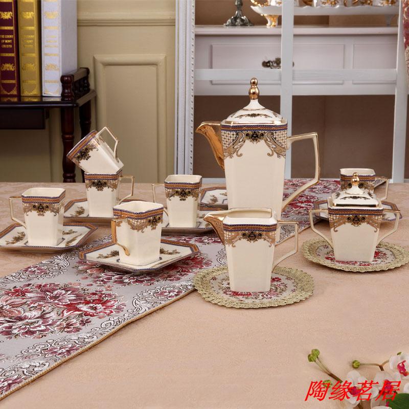 D angleterre quality tea set cup fashion bone china set coffee set wedding gifts