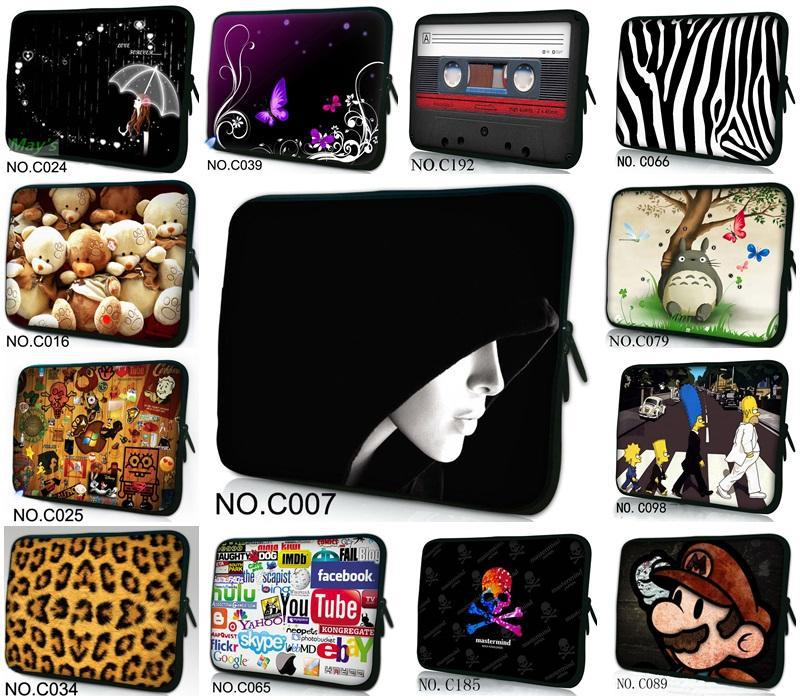 """Hot Many Designs 15"""" Laptop Soft Sleeve Bag Case Cover Pouch For 15.6"""" HP Pavilion dv6 / For Dell Inspiron ASUS(China (Mainland))"""