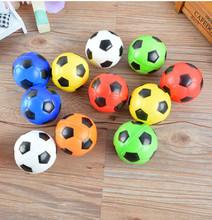2pc Soft Antistress Balls Toy Bubble Football Soccer Ball Toys for Children Diameter 6.3 cm Tennis Basketball Baseball Bouncing(China (Mainland))