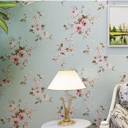 20 Floral Wallpaper Bedroom Ideas Background Wall Floral Wallpaper Pvc Wall Covering Classic Flower Wall